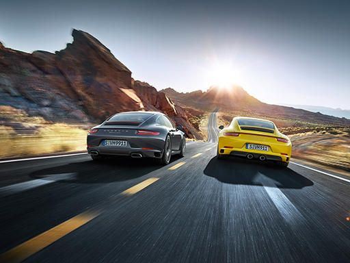 Ever ahead. The 911.