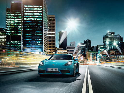 For the sport of it. The new 718 Cayman.