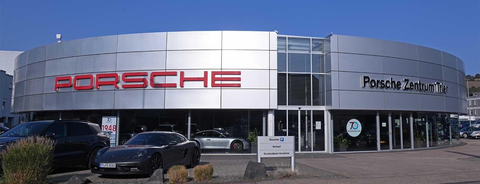 Le Centre Porsche de Trier